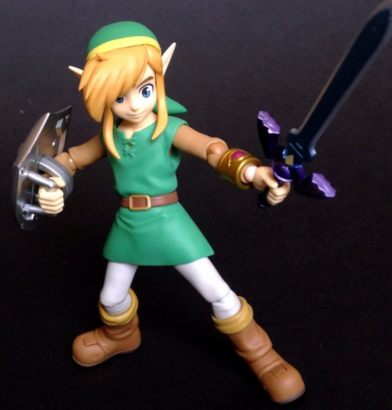 FIGMA ZELDA - LINK BETWEEN WORLDS (DX EDITION)