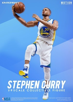 ENTERBAY NBA - STEPHEN CURRY (1/9 SCALE)