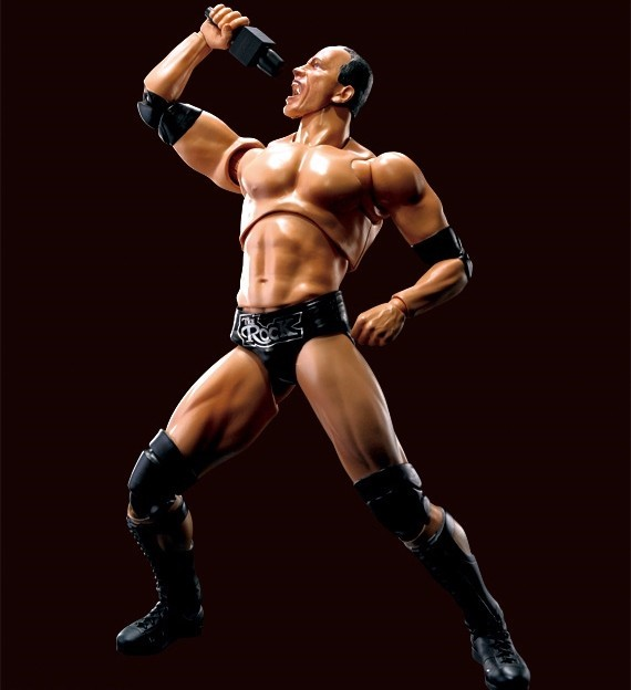 SHF WWE - THE ROCK