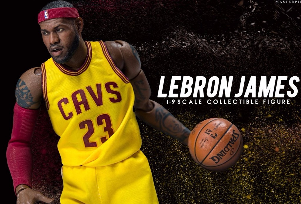 ENTERBAY NBA - LEBRON JAMES 1/9 SCALE