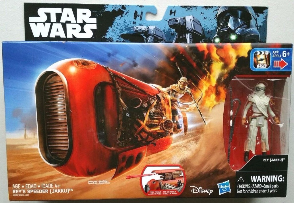 STAR WARS THE FORCE AWAKENS - REY SPEEDER (JAKKU)