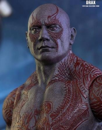 HOT TOYS - DRAX GUARDIANS OF THE GALAXY