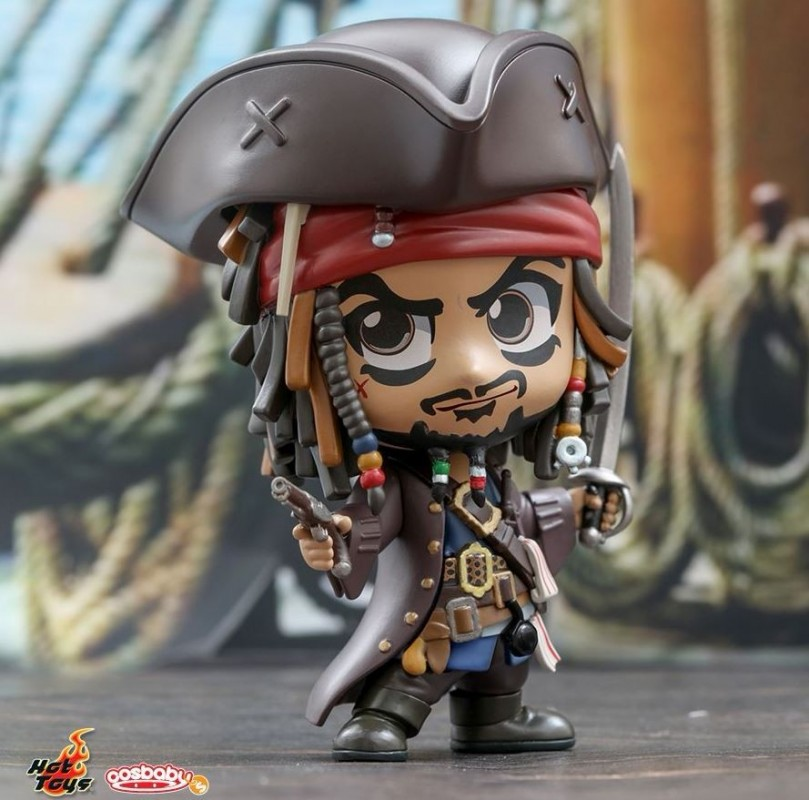 COSBABY JACK SPARROW FIGHTING POSE