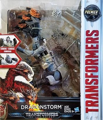 TRANSFORMERS 5 - DRAGONSTORM LEADER CLASS
