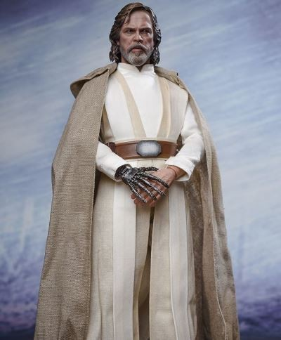 HOT TOYS - LUKE SKYWALKER JEDI MASTER