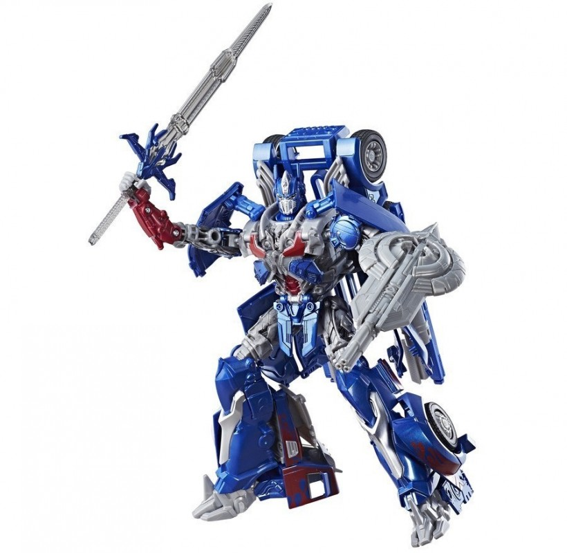 TRANSFORMERS 5 - OPTIMUS PRIME LEADER CLASS (DAMAGED BOX)