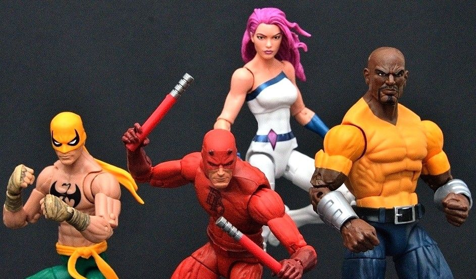 MARVEL LEGENDS - THE DEFENDERS BOXSET