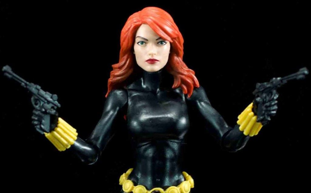 MARVEL LEGENDS VINTAGE - BLACK WIDOW