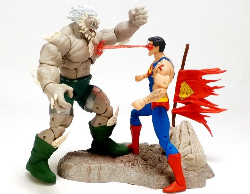 DC ICONS - SUPERMAN VS DOOMSDAY