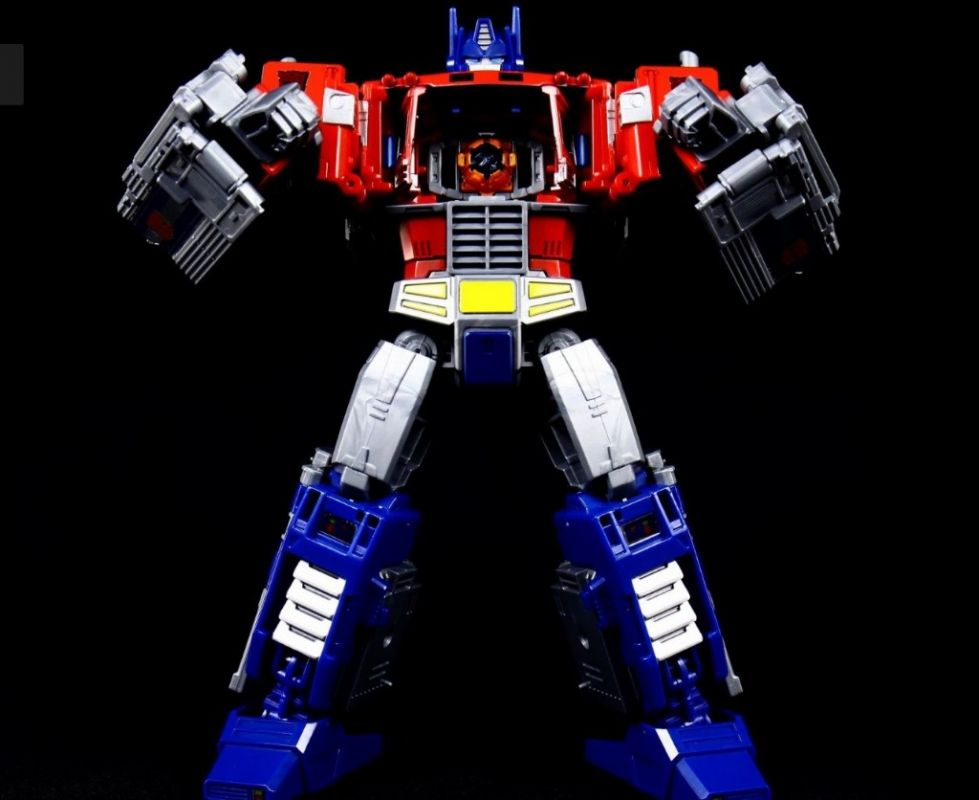 TRANSFORMERS POWER OF THE PRIMES - OPTIMUS PRIME LEADER CLASS