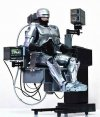 HOT TOYS - ROBOCOP DIECAST WITH MECHANICAL CHAIR