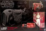 STAR WARS BLACK SERIES - REY SPEEDER (JAKKU)